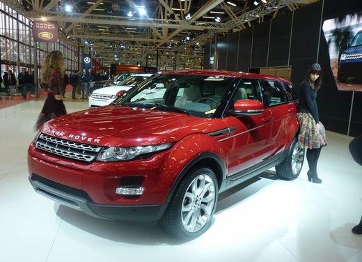 Range Rover Evoque 5 porte, il debutto