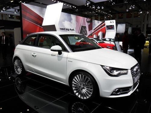 Audi A1 elettrica al Motor Show di Bologna