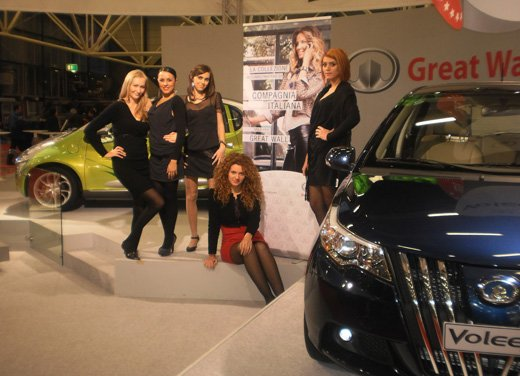 Great Wall e Compagnia Italiana al Motor Show 2010