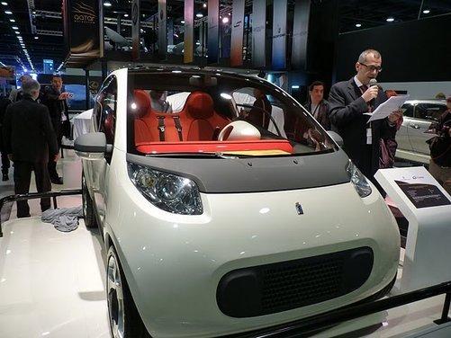 Pininfarina Nido al Qatar Motor Show 2011