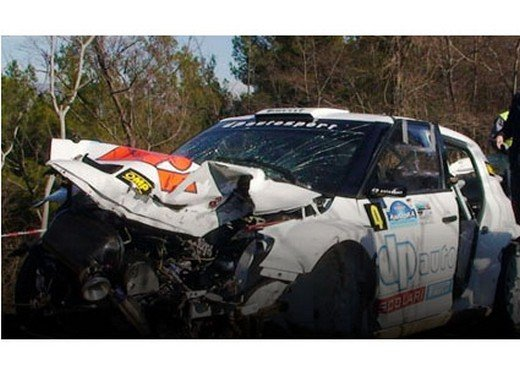 Grave incidente per Robert Kubica - Foto 1 di 5