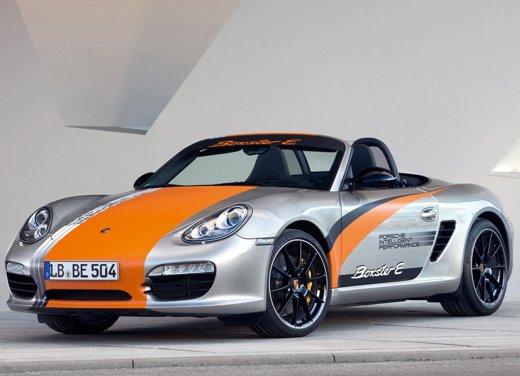 Porsche Boxster elettrica