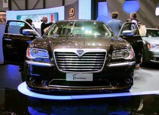 Lancia nuova Thema, l'ammiraglia Lancia sfrutta il pianale della Chrysler 300