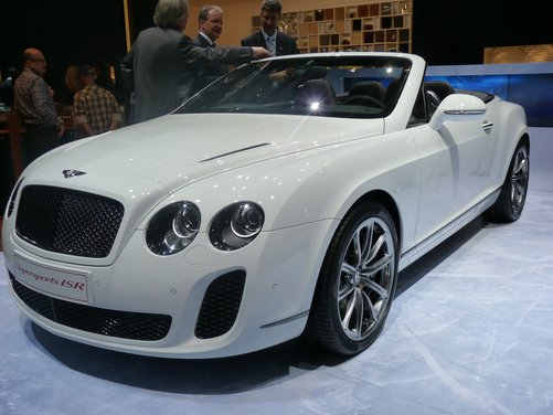 Bentley Supersports 'Ice Speed Record'