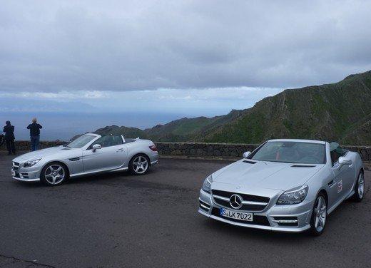 Mercedes SLK prova su strada della roadster