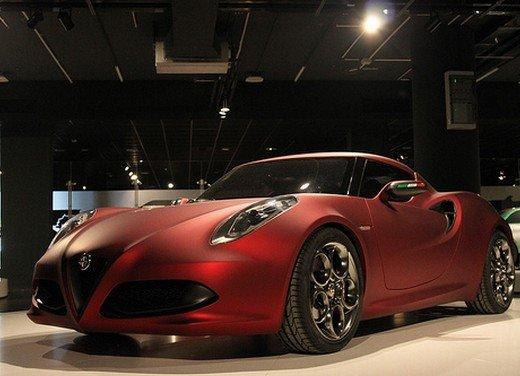 Alfa Romeo 4C al Museo Nazionale dell'Automobile - Foto 20 di 24