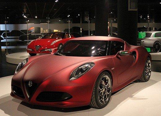 Alfa Romeo 4C al Museo Nazionale dell'Automobile - Foto 8 di 24
