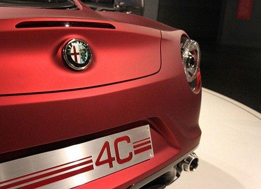 Alfa Romeo 4C al Museo Nazionale dell'Automobile - Foto 17 di 24