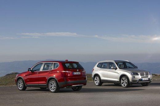 BMW nuova X3. Design ed interni ringiovaniti per la seconda generazione di X3 - Foto 1 di 13