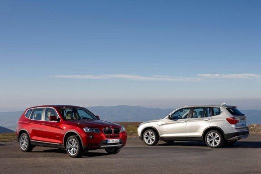 BMW nuova X3. Design ed interni ringiovaniti per la seconda generazione di X3 - Foto 2 di 13