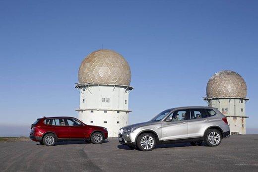 BMW nuova X3. Design ed interni ringiovaniti per la seconda generazione di X3 - Foto 3 di 13