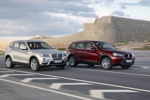 BMW nuova X3. Design ed interni ringiovaniti per la seconda generazione di X3 - Foto 4 di 13