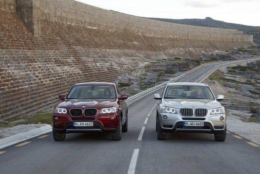 BMW nuova X3. Design ed interni ringiovaniti per la seconda generazione di X3 - Foto 6 di 13
