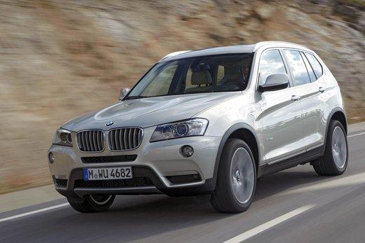 BMW nuova X3. Design ed interni ringiovaniti per la seconda generazione di X3 - Foto 7 di 13