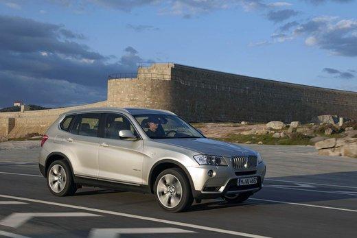 BMW nuova X3. Design ed interni ringiovaniti per la seconda generazione di X3
