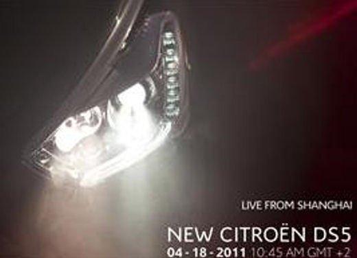 Citroen DS5 debutta al Salone di Shanghai