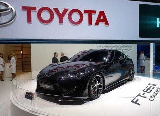 Toyota FT86: i dettagli della nuova coupé Toyota nata in collaborazione con Subaru - Foto 15 di 16