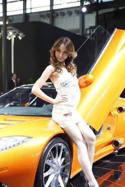 Salone Auto Shanghai 2011 – Girls 1 - Foto 7 di 26