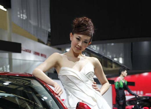 Salone Auto Shanghai 2011 – Girls 1 - Foto 4 di 26