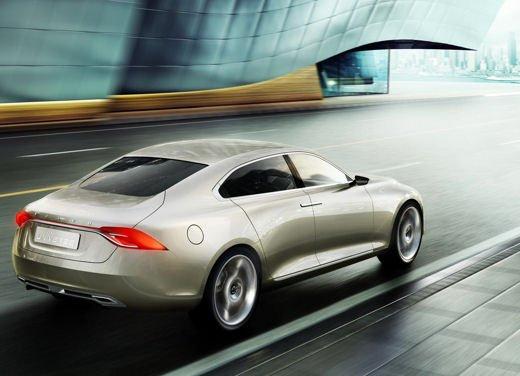 Volvo Concept Universe, futura berlina di lusso svelata a Shanghai - Foto 14 di 22