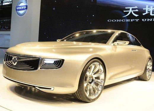 Volvo Concept Universe, futura berlina di lusso svelata a Shanghai - Foto 4 di 22
