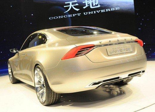Volvo Concept Universe, futura berlina di lusso svelata a Shanghai - Foto 6 di 22