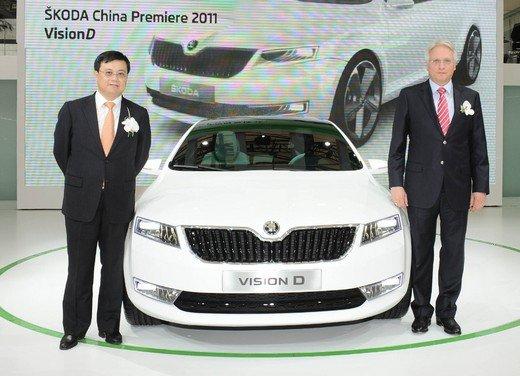 Škoda al  Salone di Shanghai 2011 prosegue la sua strategia di crescita nel mercato cinese - Foto 2 di 6