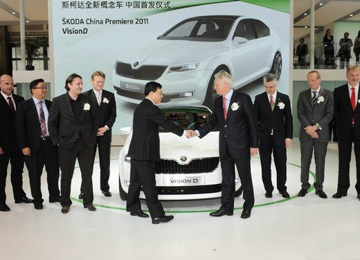 Škoda al  Salone di Shanghai 2011 prosegue la sua strategia di crescita nel mercato cinese - Foto 1 di 6