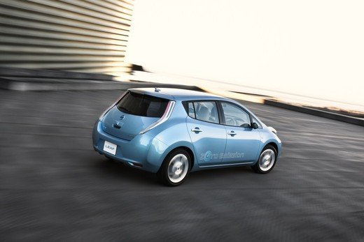 Nissan LEAF vince a New York il premio World Car of the Year 2011 - Foto 3 di 8