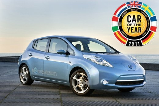 Nissan LEAF vince a New York il premio World Car of the Year 2011 - Foto 1 di 8