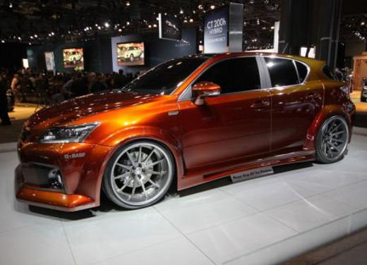 Lexus CT 200h by Fox Marketing al Salone dell'auto di New York - Foto 8 di 14