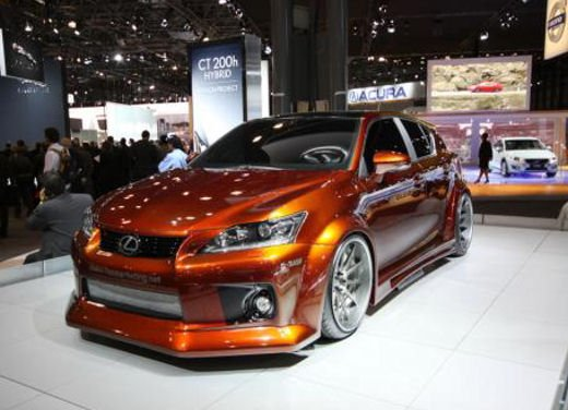 Lexus CT 200h by Fox Marketing al Salone dell'auto di New York - Foto 9 di 14