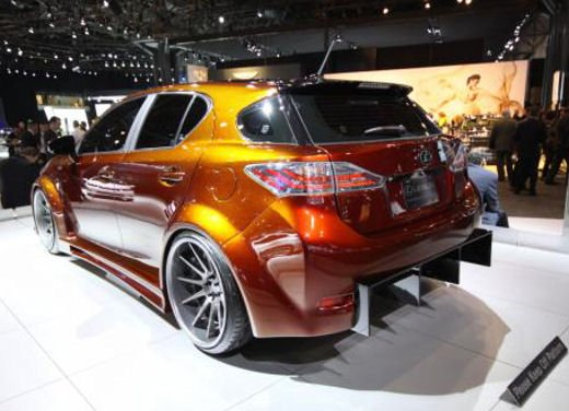 Lexus CT 200h by Fox Marketing al Salone dell'auto di New York - Foto 4 di 14