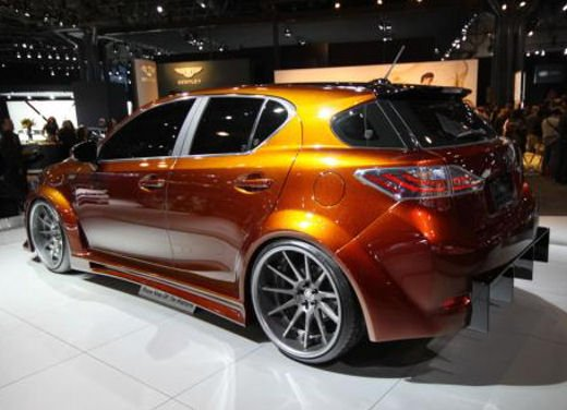 Lexus CT 200h by Fox Marketing al Salone dell'auto di New York - Foto 1 di 14