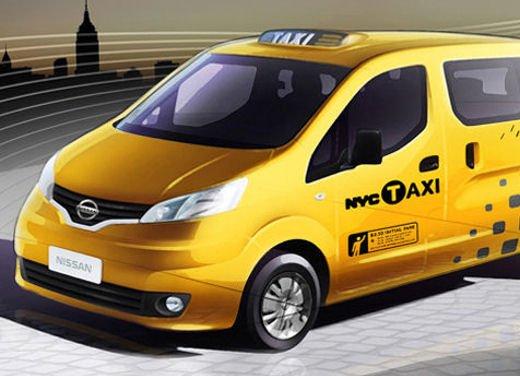 Nissan NV200 scelto come Taxi ufficiale della città di New York - Foto 2 di 5