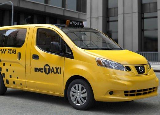 Nissan NV200 scelto come Taxi ufficiale della città di New York - Foto 3 di 5