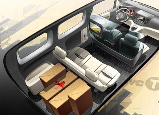 Nissan NV200 scelto come Taxi ufficiale della città di New York - Foto 4 di 5