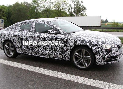 Audi S5 Sportback le immagini spia promettono grosse novità - Foto 5 di 9