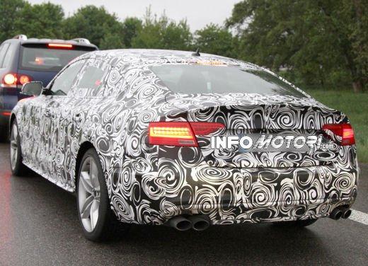 Audi S5 Sportback le immagini spia promettono grosse novità - Foto 7 di 9