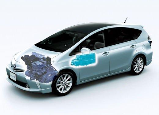 Toyota lancia il monovolume Prius Alpha che in Europa si chiama Toyota Prius + o Prius Plus - Foto 6 di 9