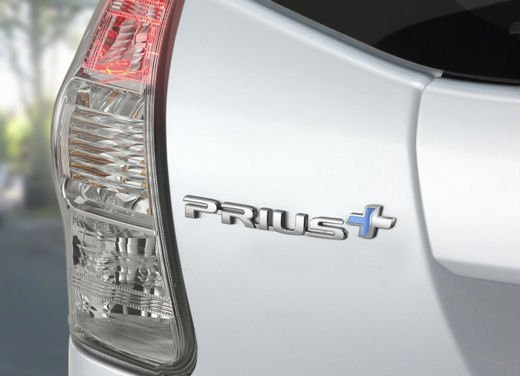 Toyota lancia il monovolume Prius Alpha che in Europa si chiama Toyota Prius + o Prius Plus - Foto 9 di 9