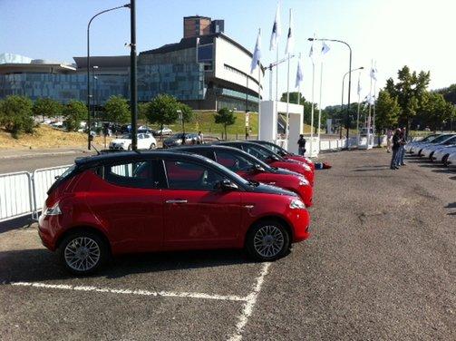 Nuova Lancia Ypsilon provata a Torino - Foto 33 di 53