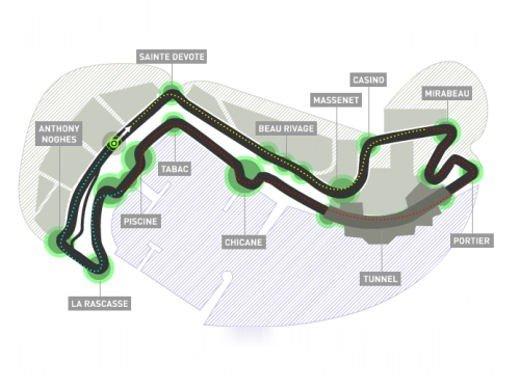 F1 GP Monaco 2012: video pneumatici Pirelli a Montecarlo - Foto 3 di 15