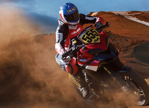 Ducati Multistrada 1200 si prepara alla Pikes Peak International Hill Climb 2011