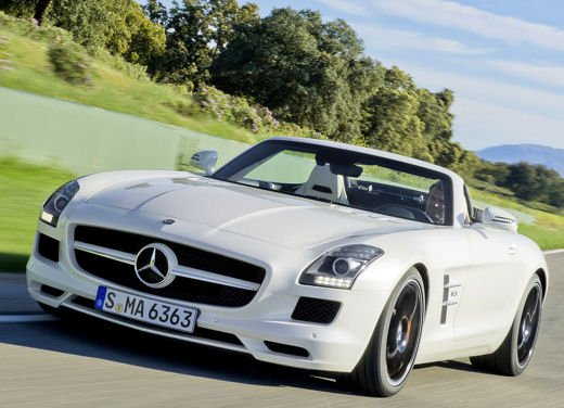 Mercedes-Benz SLS AMG Cabrio