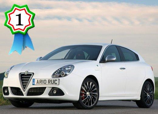 Alfa Romeo Giulietta batte nuova BMW Serie 1, Opel Astra GTC e Mini Coupè