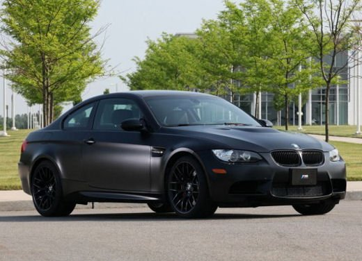 BMW M3 Frozen Black Edition solo per gli USA