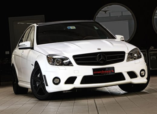 "Mercedes C63 AMG ""Whitestorm"" by Romeo Ferraris"