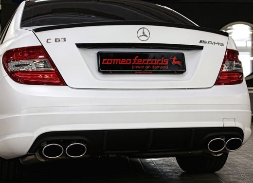 "Mercedes C63 AMG ""Whitestorm"" by Romeo Ferraris - Foto 16 di 22"
