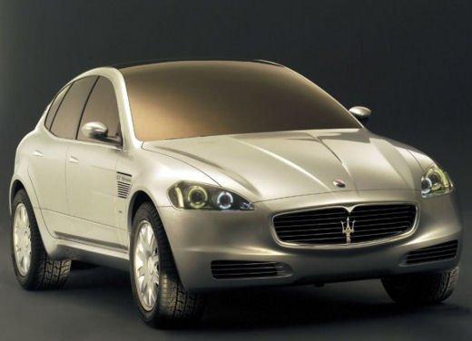Nuova Maserati SUV